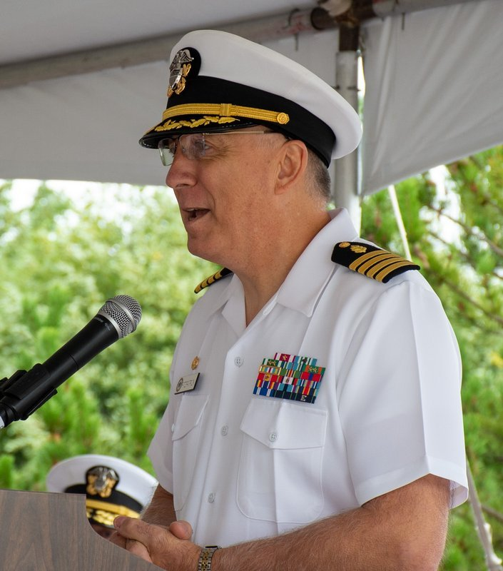 Navy Capt. Patrick Fitzpatrick, MSN, ENP