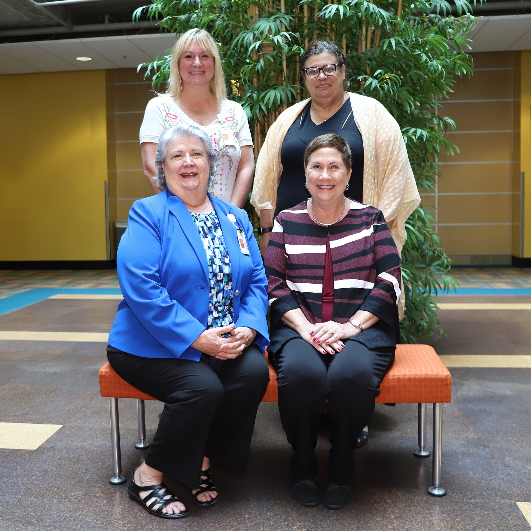 Pictured clockwise from top left are Dr. Tammy Stout, Dr. Carole Mackavey, Dr. Susan Ruppert, and Dr. Linda Cole.