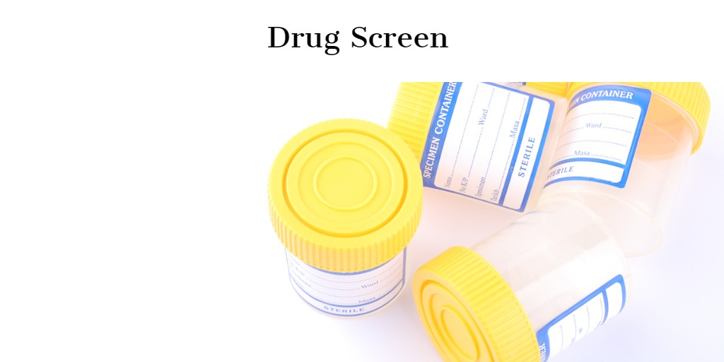drug screen
