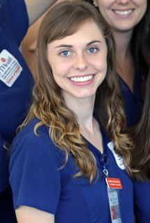 Recent alumna Morgan Brock, BSN, RN, is one of the coauthors of the