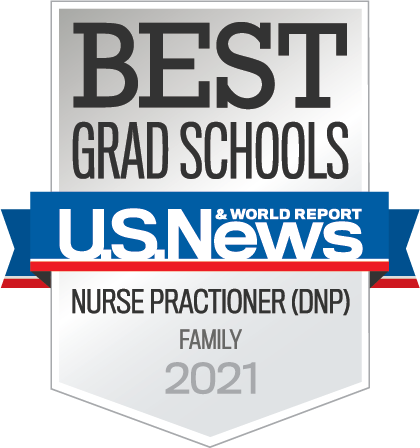 U.S. News and World Report best graduate school rankings: Nurse Practitioner (DNP)