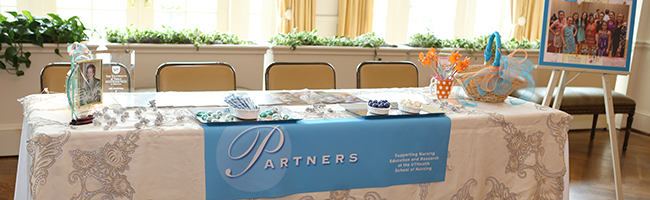 photo of Partners table